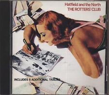 HATFIELD AND THE NORTH - The rotter's club - CD 1975 / 1992 NEAR MINT CONDITION