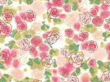 Vintage Flowers Boutique Rose Print Cake Topper Edible Wafer Paper FULL A4 SHEET