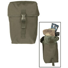Military Army Multipurpose Utility Tool DIY Fishing MOLLE Belt Pouch Large Green