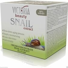 Victoria Beauty Anti Wrinkle Day and Night Repair Face Cream with Snail Extract