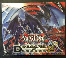 Yugioh Dragon of Legend 2 1st Edition Factory Sealed Booster Box