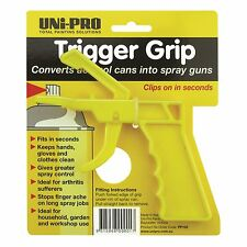 UNi-PRO SPRAY CAN TRIGGER GRIP 2Pcs Keeps Hands, Gloves & Clothes Clean*AUS Made
