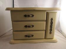 boite bijoux en bois peint en forme de commode epoque 1970 baguier