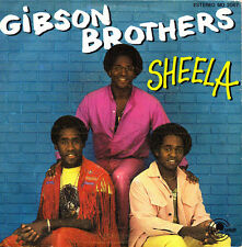 GIBSON BROTHERS-SHEELA + BAISER SALE SINGLE VINILO 1981 SPAIN GOOD COVER
