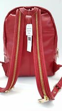 Via Spiga Estelle Italian Leather Nappa Backpack (Red)