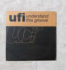 "CD AUDIO / UFI ""UNDERSTAND THIS GROOVE"" CDS PROMO DE 3310 DELABEL 1992 2 TRACKS"