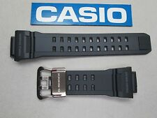 Genuine Casio G-Shock Rangeman GW-9400 watch band strap black resin rubber