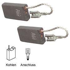 Cepillos de carbón carbón motorkohlen lápices Bosch gbh11de - 6,3x16x26mm favorable (2059)
