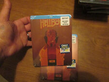 HELLBOY BLU-RAY ** STEELBOOK ** PROJECT POP ART NEW FACTORY SEALED RARE