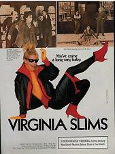 1986 PRINT AD for VIRGINIA SLIMS CIGARETTES : Laurie Howland Hulit Shoe