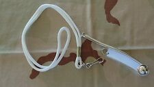 USN US NAVY USCG COAST GUARD BOATSWAIN BOSUNS CALL PIPE SIGNAL WHISTLE LANYARD W