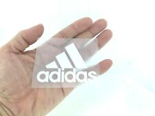 ADIDAS LOGO WHITE IRON ON PATCH SPORTS LOGO DIY T-SHIRT CLOTHING POLO #7