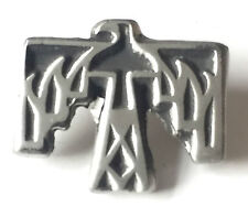 Thunderbird Native American Hand Made from English Pewter Pin Badge