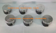 Chevy Corvair 164 Speed Pro TRW Forged Flat Top Coated Pistons Set/6 1964-69 +30