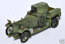 Rare 1/43 scale Top Marques MV1 Rolls Royce Silver Ghost Armored Car 1914-18 MIB