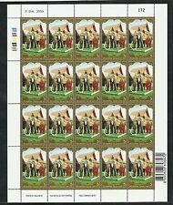 Thailand 2007 MNH 4 sheets of 20 H.M. the King's 80th Birthday Anniversary