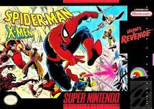 Spider-Man X-Men Arcade's Revenge SNES Great Condition Fast Shipping