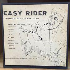 """Leadbelly Easy Rider Legacy Volume Four Folkways 10"""" LP FA 2034"""