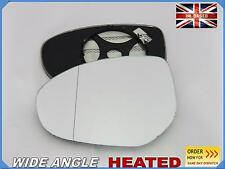 Wing Mirror Glass MAZDA 2 3 6 2007-2015 Aspheric HEATED Left side #JM025