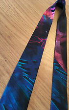 Paul Smith Tie VERY RARE ABSTRACT DESIGN 5cm Square End 100% Silk MAINLINE