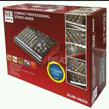 Allen & Heath ZED 10 FX Mixing Board w Effects for Small Band Live Sound ZED10FX