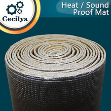 "12""x40"" Heat Proof Deadner Sound Proofing Sheild Trunk Door Mat For Toyota Hilux"