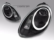 USA 05-08 Porsche 987 Boxster Cayman 991 LED Black Bi-Xenon Projector Headlight