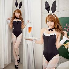 New Sexy Bunny Rabbit Cosplay Fancy Dress Halloween Costume Party Dress Up Teddy