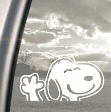 Snoopy charlie brown peanuts funny bumper, car, window, ipad or laptop sticker