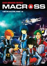 SUPER DIMENSION FORTRESS MACROSS Complete 4-DVD BOX SET