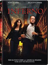 Inferno (DVD 2016) NEW* TOM HANK Action,Mystery, Crime* PRE-ORDER 01/24/17 !