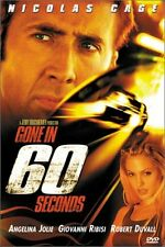 Brand New DVD Gone in 60 Seconds Nicolas Cage Angelina Jolie Robert Duvall