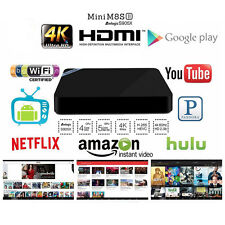 Mini M8S-2 Amlogic S905X 4K Quad Core Fully Loaded Android 6.0 Wifi Smart TV Box