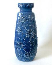 """60s Scheurich H 52 cm Keramik Vase """"Kosmos"""" pattern ceramic floorvase annees 70"""