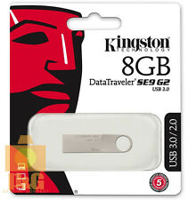 New Kingston 8GB DataTraveler SE9 G2 USB 3.0 Flash Pen Drive Memory Keychain
