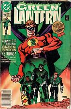 Green Lantern - #19 (Dec 91) return of original Green Lantern - 50th Anniversary