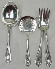 OLD COLONY 1847 Rogers 3 Serving Silverplated Flatware Casseroll Meat Tomato