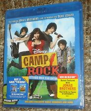 Camp Rock (Blu-ray Disc, 2008), NEW & SEALED, REGION A, WITH THE JONAS BROTHERS