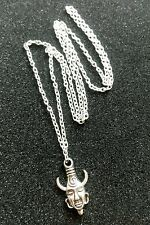 "Supernatural DEAN Winchester's AMULET Tibetan Silver Charm, 30"" Chain Necklace"