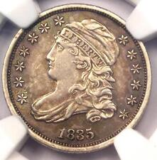 1835 Capped Bust Dime 10C - Ngc Au Detail - Rare Early Date Certified Coin!