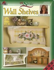 Donna Dewberry : WALL SHELVES Painting Book - NEW!
