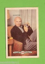 #D160. 1958-64  ATLANTIC PETROLEUM FILM STARS CARD #316  YUL BRYNNER