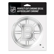 "Boston Bruins 6""x6"" Chrome Auto Decal [NEW] NHL Car Emblem Sticker Wincraft"