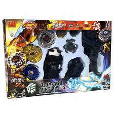Beyblade Lot Set w/ Beat Lynx, Screw (Spiral) Fox, L-Drago Guardian - USA SELLER