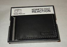 KENNETH COLE REACTION MEN'S WALLET GENUINE LEATHER TRAVELER  ST#5605395P