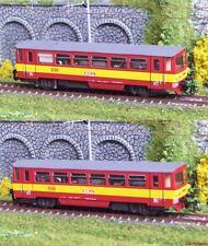 TT Dieseltriebwagen M152 CSD rot mit gelbem Streifen Rubikon 922.01 NEU!!