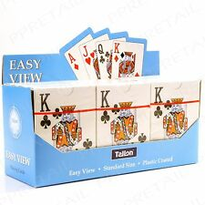12 PACK Full EASY TO READ Classic Playing Card Full Deck Gambling Games Magic