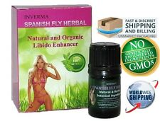 Spanish Fly the Legendary Strong Inverma Herbal Love Drops for Her.