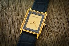 Vintage rare Jaeger le Coultre  ref 9009 18kt lapis dial insert, hand winding
