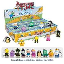 ADVENTURE TIME KIDROBOT KEYCHAIN SERIES CASE OF 24 SEALED FIGURES  #soct16-212